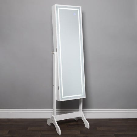 1025_KSP_Sophia_Floor_Mirror_LED_Jewelry_Cabinet__White