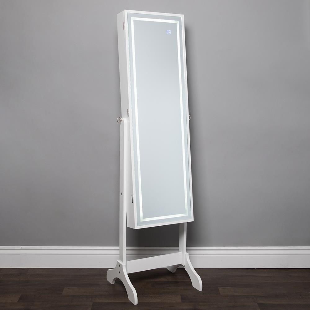 1025_KSP_Sophia_Floor_Mirror_LED_Jewelry_Cabinet__White