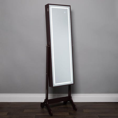 1026_KSP_Sophia_Floor_Mirror_LED_Jewelry_Cabinet__Brown