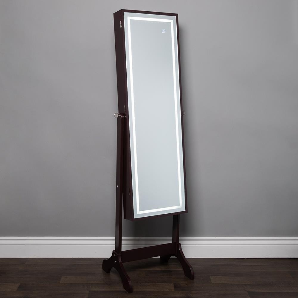 1026_KSP_Sophia_Floor_Mirror_LED_Jewelry_Cabinet__Brown