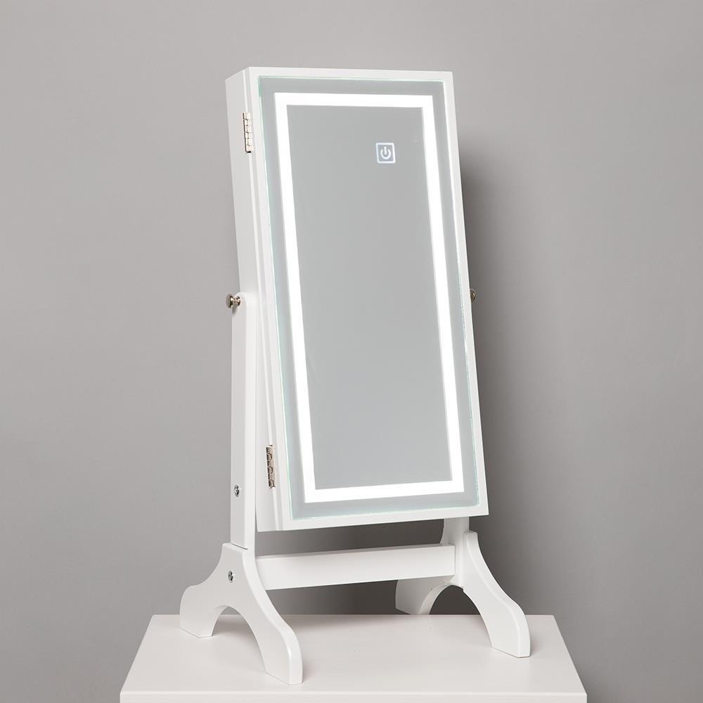 1027_KSP_Sophia_Table_Mirror_LED_Jewelry_Cabinet__White