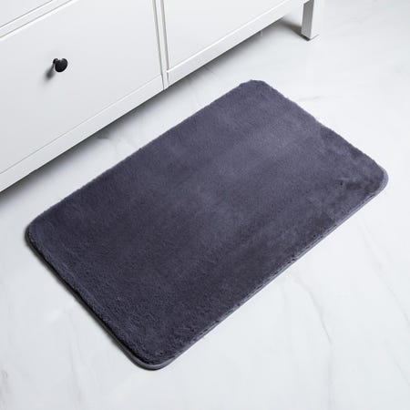 1064_Harman_Fluffy_Faux_Fur_Polyester_Bathmat___Large__Charcoal