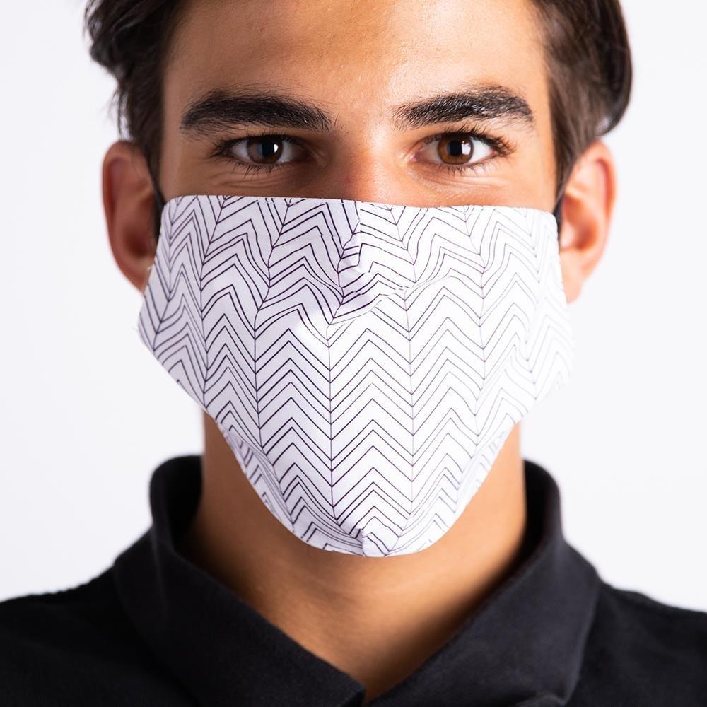 1073_Harman_Decorative_'Chevron'_Adult_Face_Mask__Grey