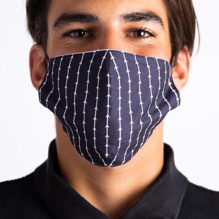 1080_Harman_Decorative_'Stripes'_Adult_Face_Mask__Navy
