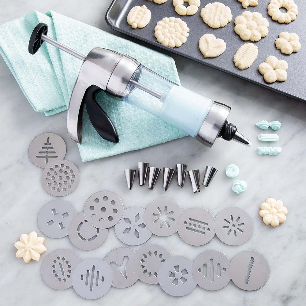 1084_KSP_Perfect_Cookie_Press___Icing_Gun___Set_of_24__Stainless_Steel