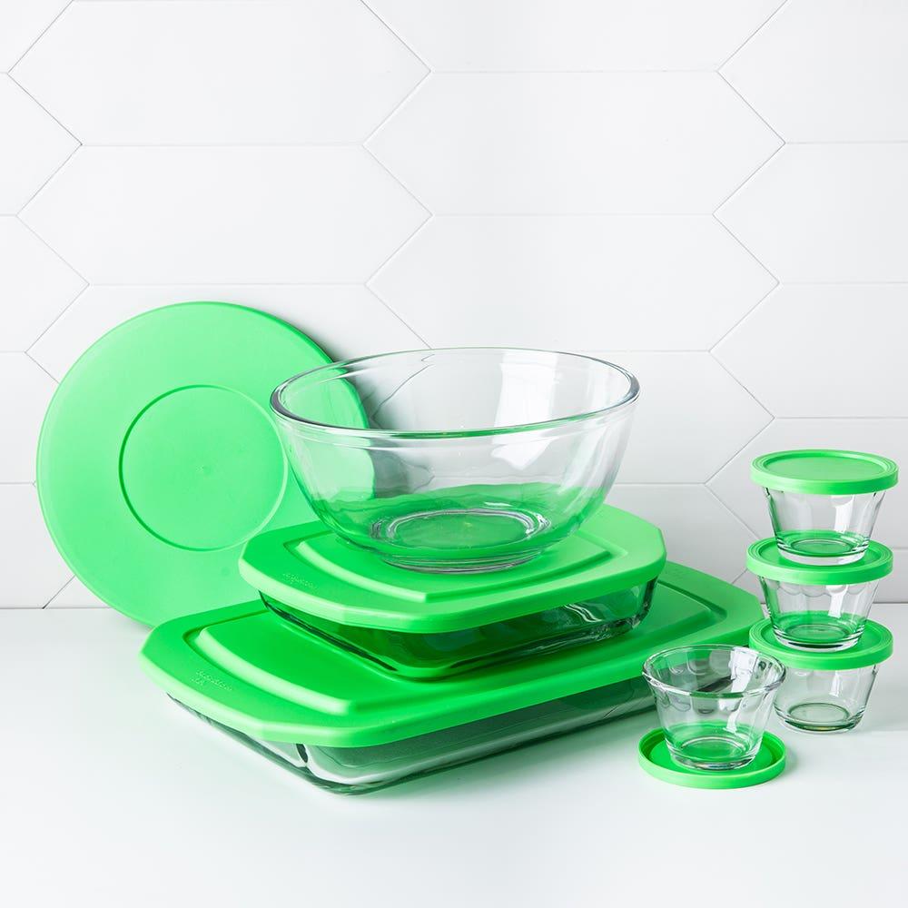 Libbey Baker's Basics Glass Bakeware Combo - Set of 14