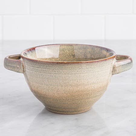 Ksp Patina Soup Bowl Brown