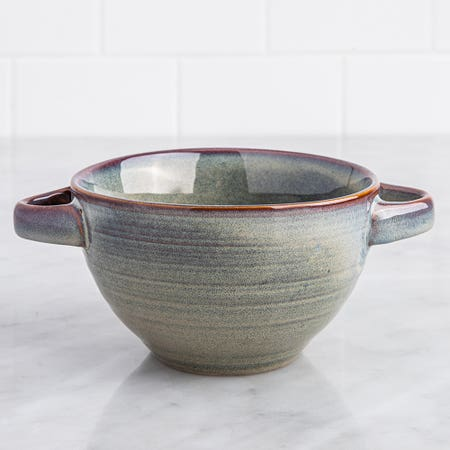 Ksp Patina Soup Bowl Red