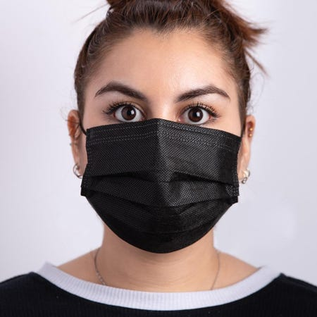 1226_Bodico_Ppe_'4_Ply'_Disposable_Face_Mask___Set_of_50__Adult_Black