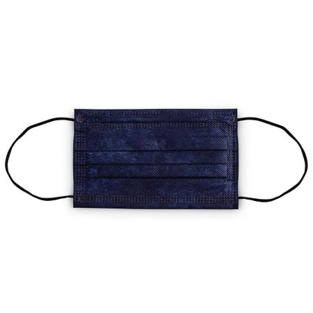 1228_Bodico_Ppe_'4_Ply'_Disposable_Face_Mask___Set_of_10__Navy