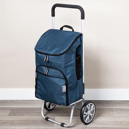 Ksp Urban Aluminum Trolley Blu