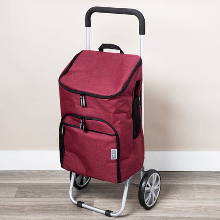 Ksp Urban Aluminum Trolley Red