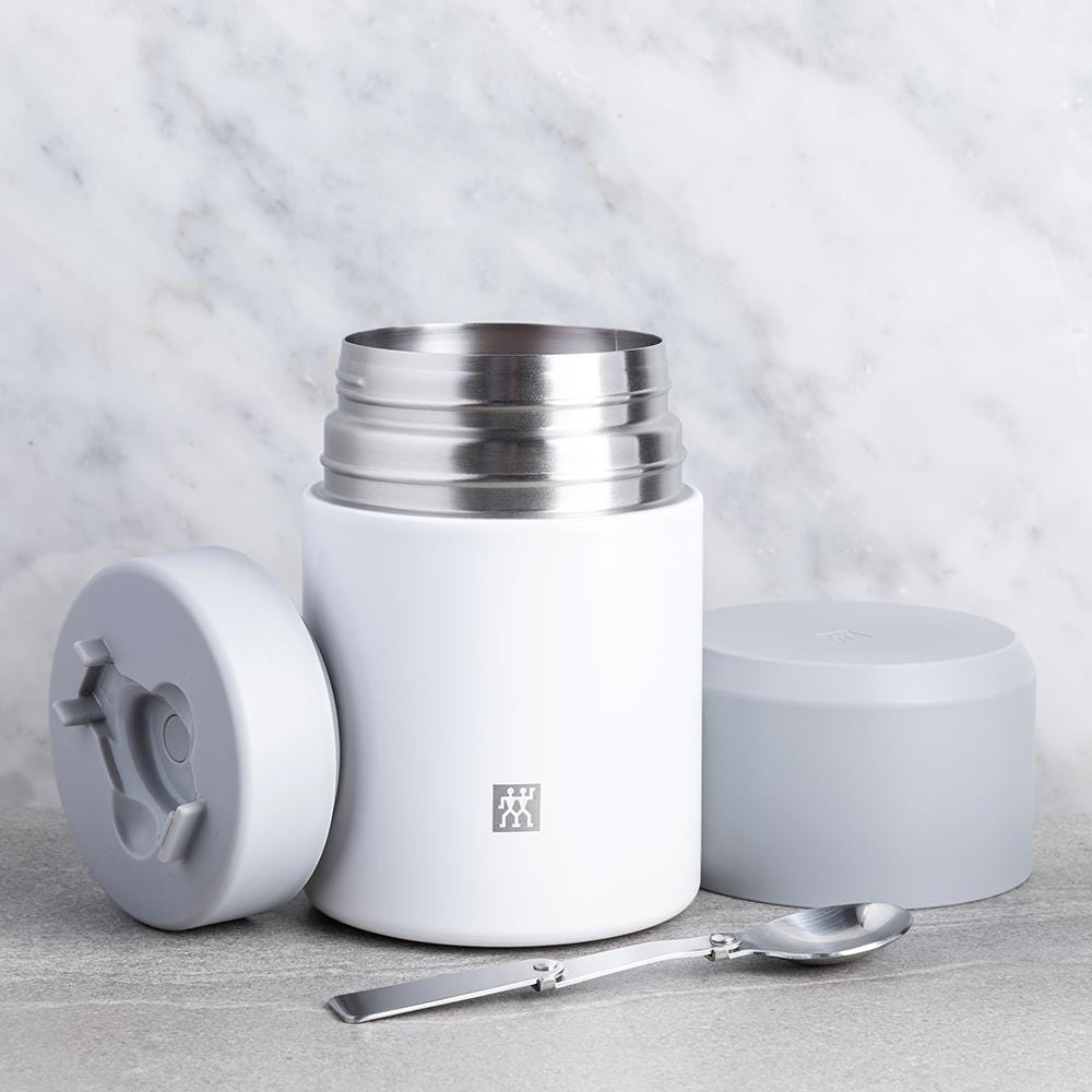 ZWILLING Thermo Thermal Food Storage Jar (White/Silver)   Kitchen Stuff Plus