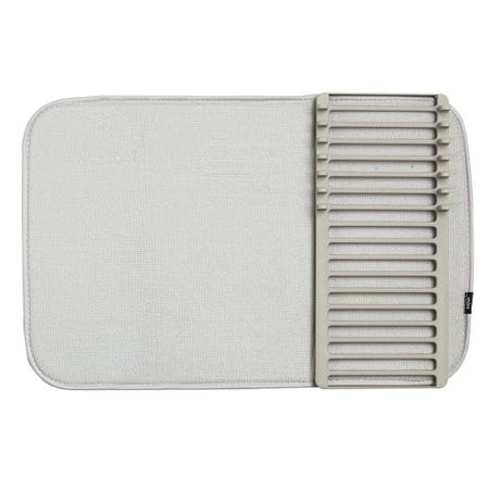 1312_Umbra_Udry_Mini_Microfibre_Drying_Mat_with_Rack__Light_Grey
