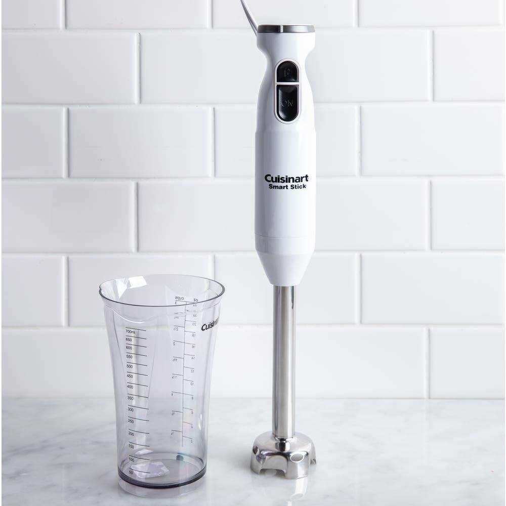 Cuisinart Smartstick Immersion Blender with Beaker (White)