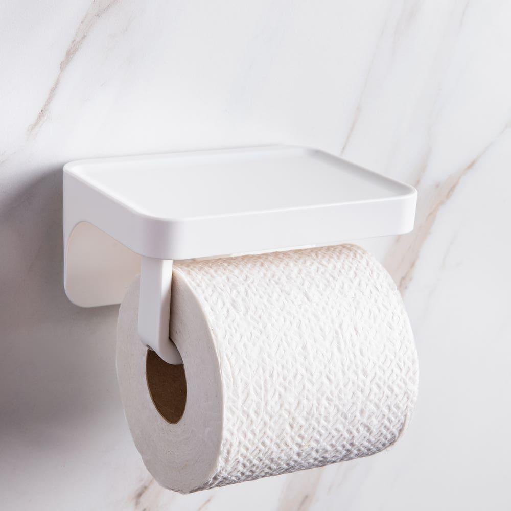 Umbra Flex Sure-Lock Toilet Paper Holder with Shelf