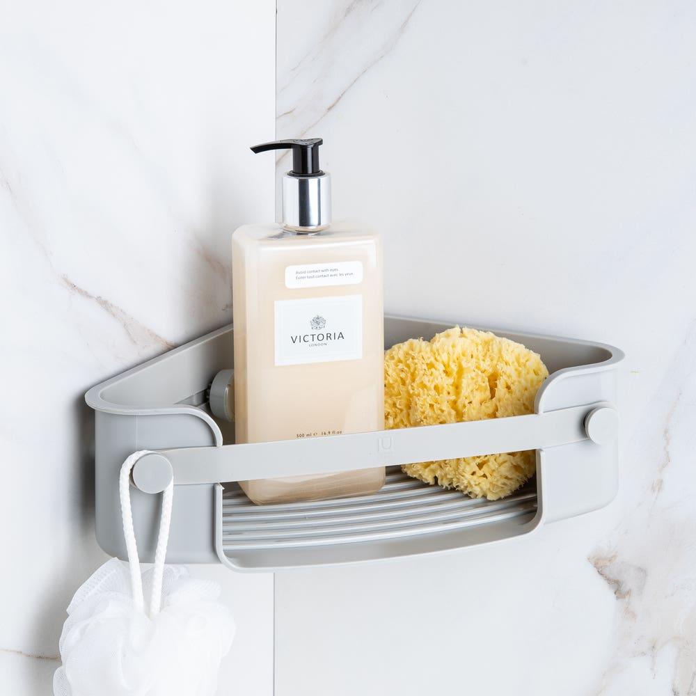 Umbra Flex Gel Corner Basket (Grey)