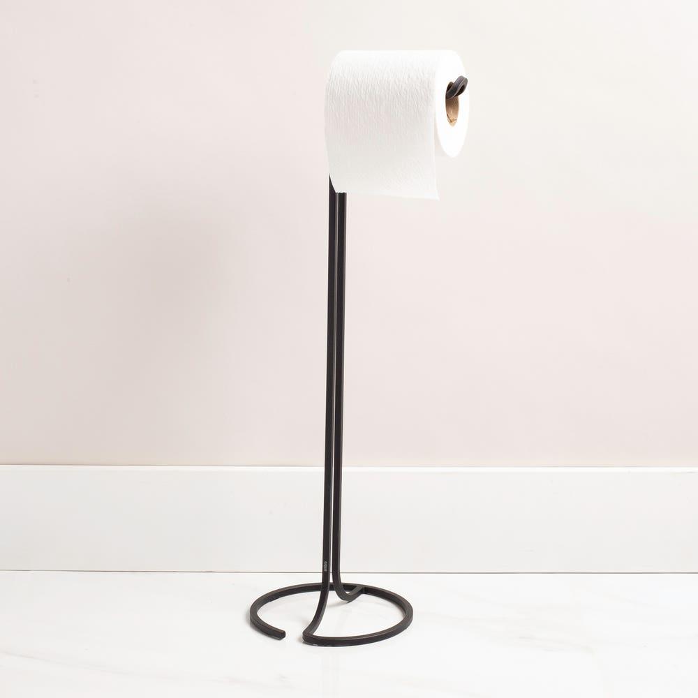 Umbra Squire Toilet Paper Stand (Black)