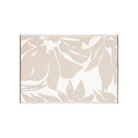 Ksp Mat Floral 4 X 6 Grey