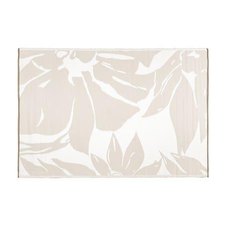 Ksp Mat Floral 6 X 9 Grey
