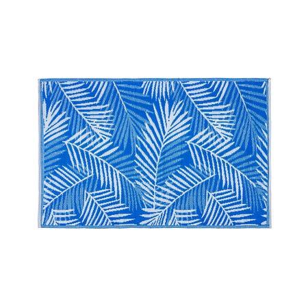 Ksp Mat Palm 4 X 6 Blue