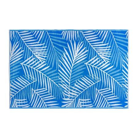 Ksp Mat Palm 6 X 9 Blue