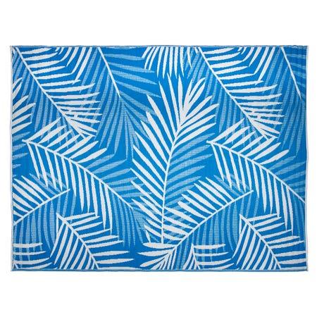 Ksp Mat Palm 9 X 12 Blue