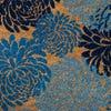 KSP Casual 'Blossom' Coir Doormat (Blue)