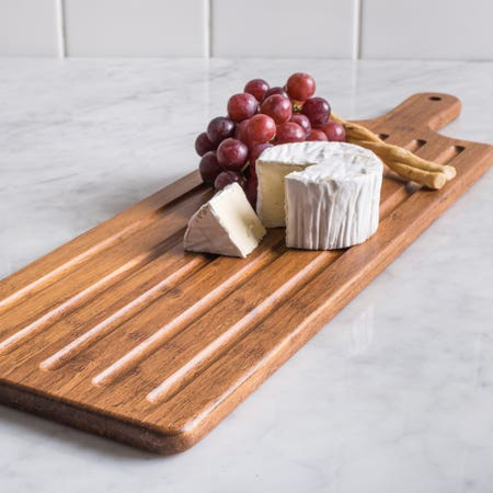KSP Crushed Bamboo Cutting Board Paddle 61x18cm