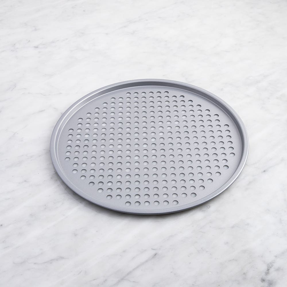 """Meyer BakeMaster Non-Stick Perforated 14"""" Pizza Pan"""