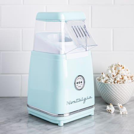 Nostalgia Electrics Retro Series Aqua Tabletop Hot Air Popcorn Maker