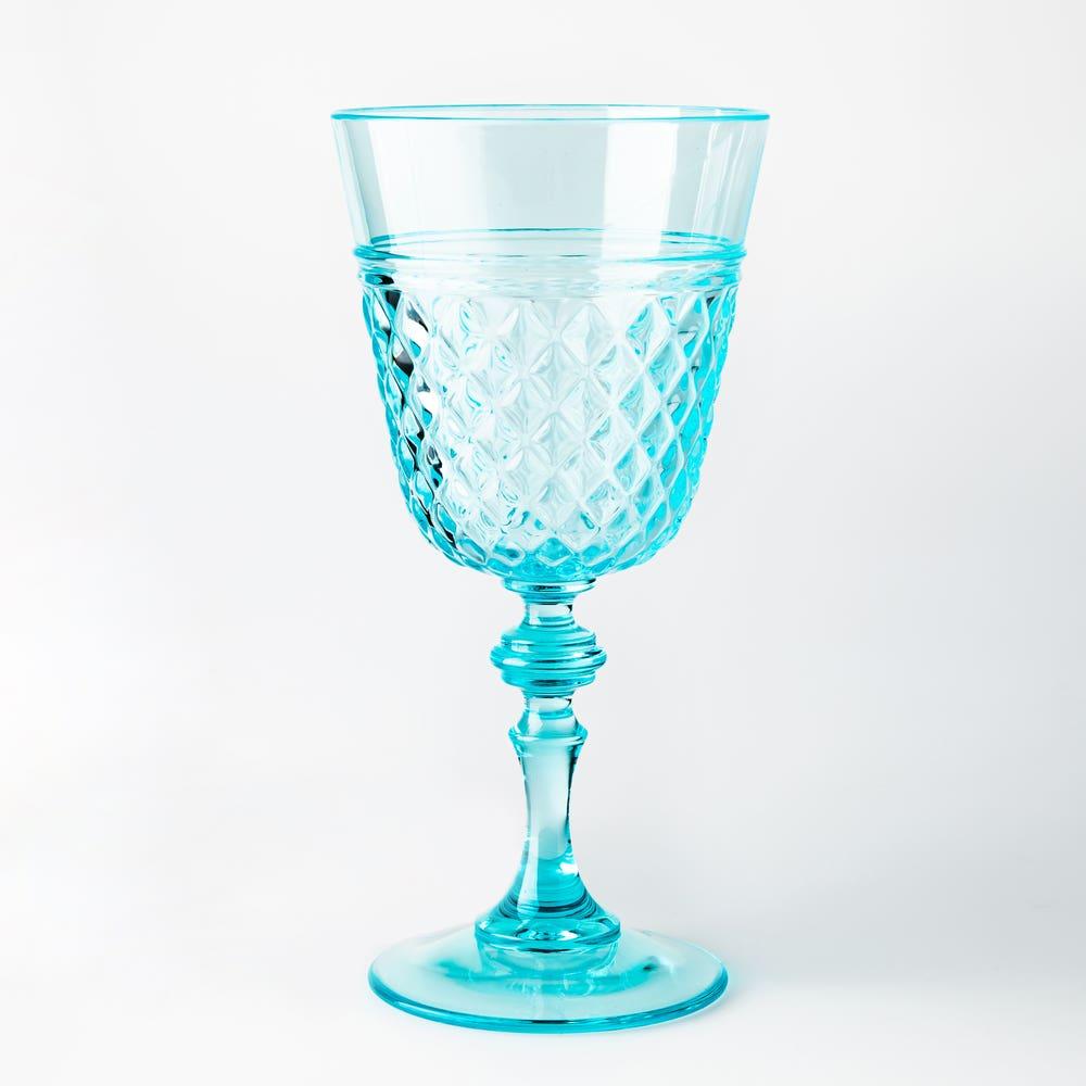 Ksp Bristol Wine Glass Aqua