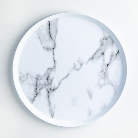 Enzo Dinner Plate 11 Marble