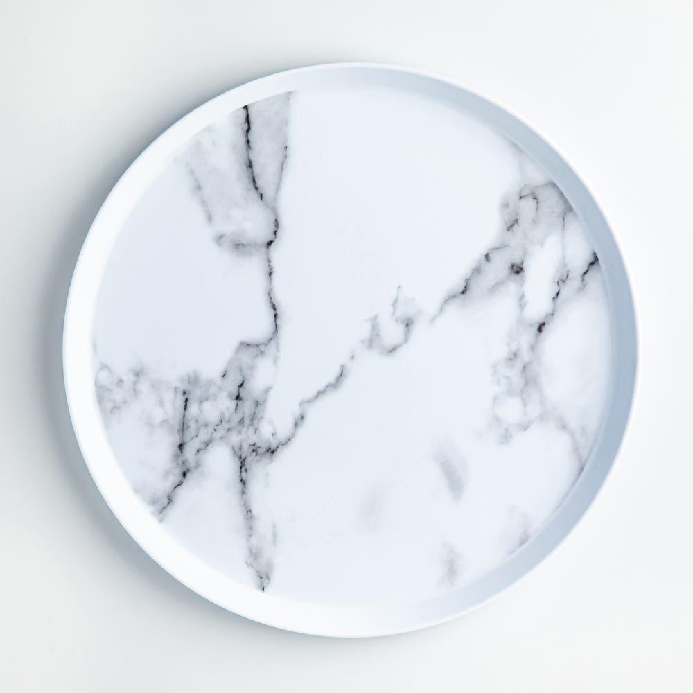 KSP Enzo Melamine Dinner Plate (Marble White)