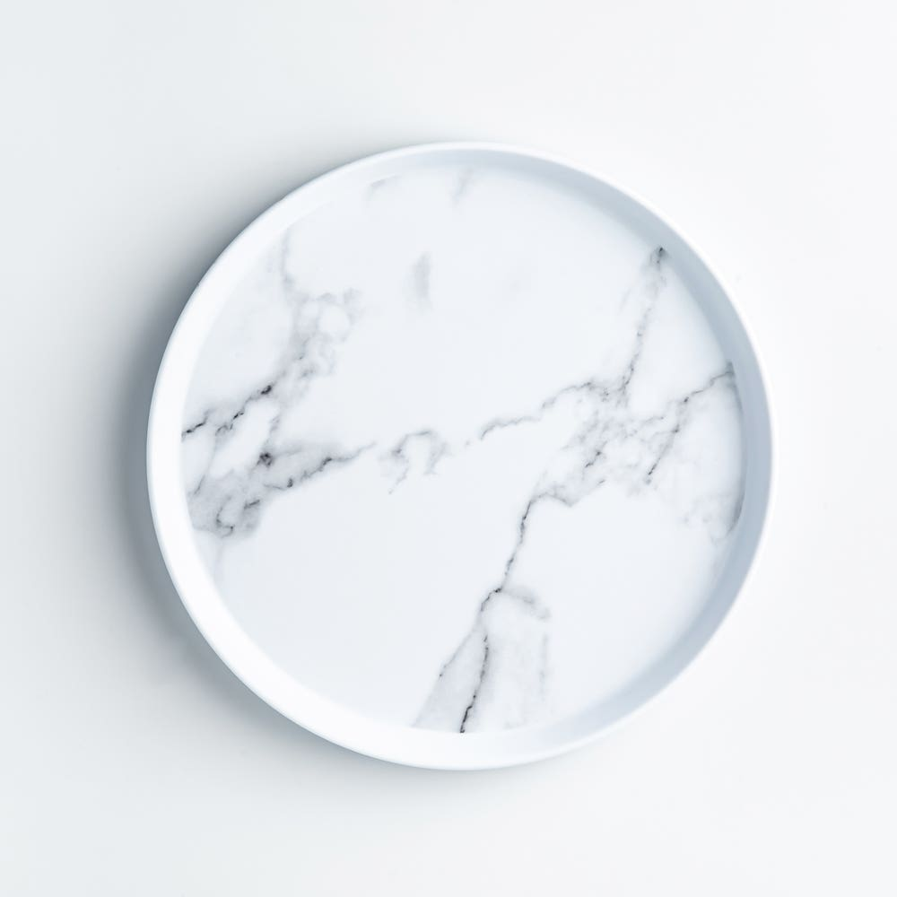 Enzo Side Plate 8 Marble