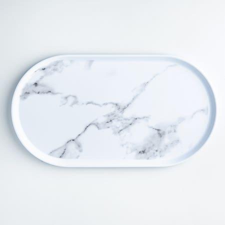 Enzo Platter 17 25 Marble