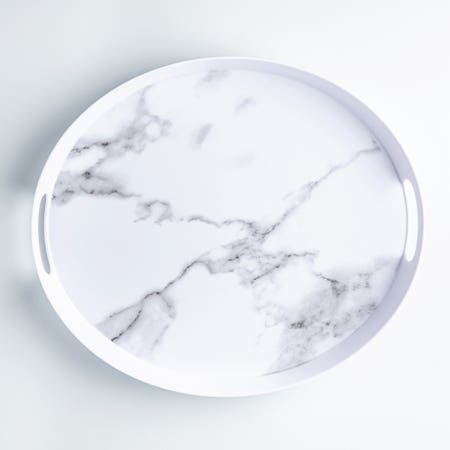 Enzo Serving Tray 15 5 Marble