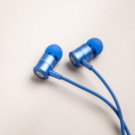 S Image Wireless Earbud Blue