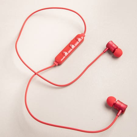 S Image Wireless Earbud Red