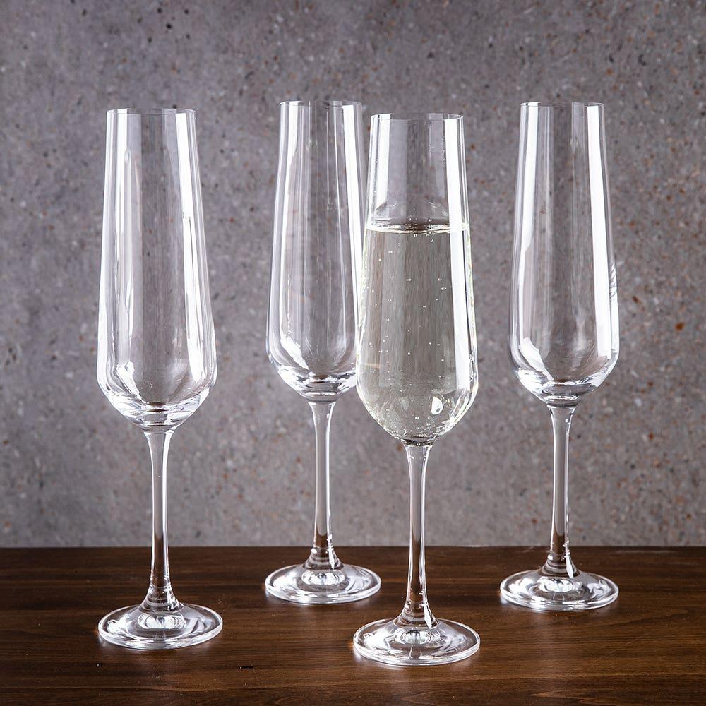 Trudeau Gala Champagne Flute - Set of 4