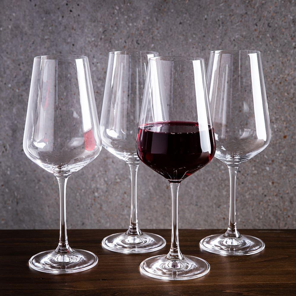 Trudeau Gala Red Wine Glass - Set of 4
