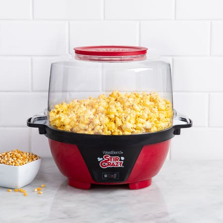 Westbend Stircrazy Popcorn Red