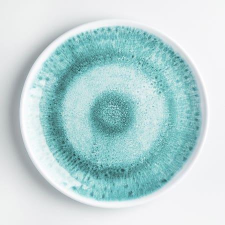 Laguna Dinner Plate 10 5 Aqua