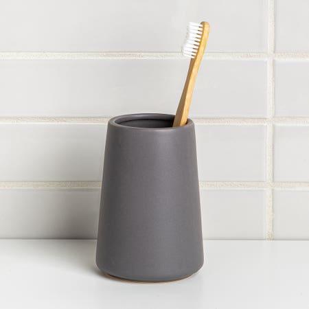 Anitra Tumbler T Brush Dk Grey