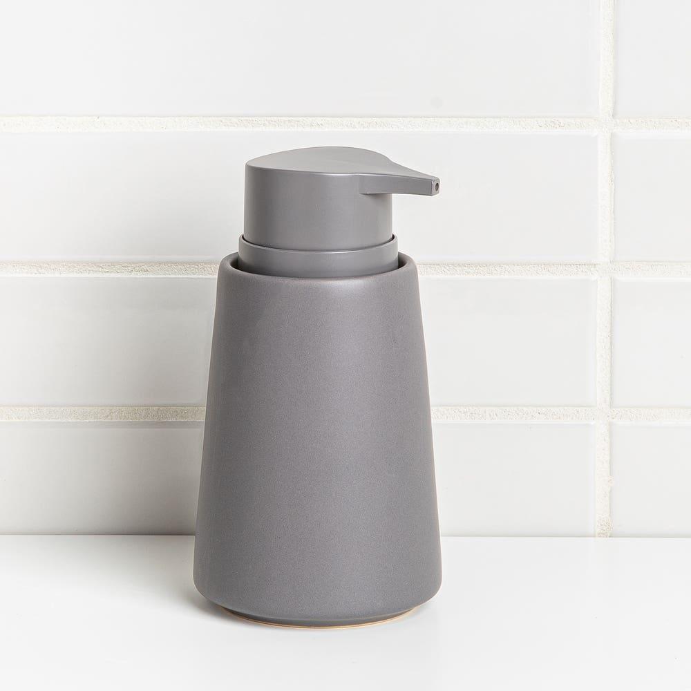 Moda At Home Anitra Ceramic Soap Pump (Dark Grey)