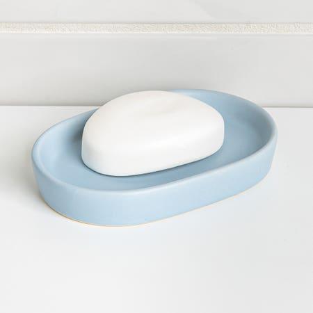 Anitra Soap Dish Lt Blue