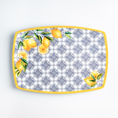 Capri Rectangle Platter 14