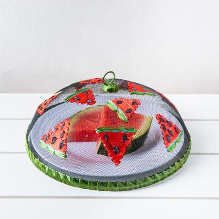 H E Mesh Food Tent Watermelon