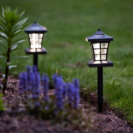 Solar Led Pathway Stake 3 In 1
