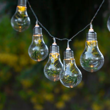 Led String Light Bulb X10